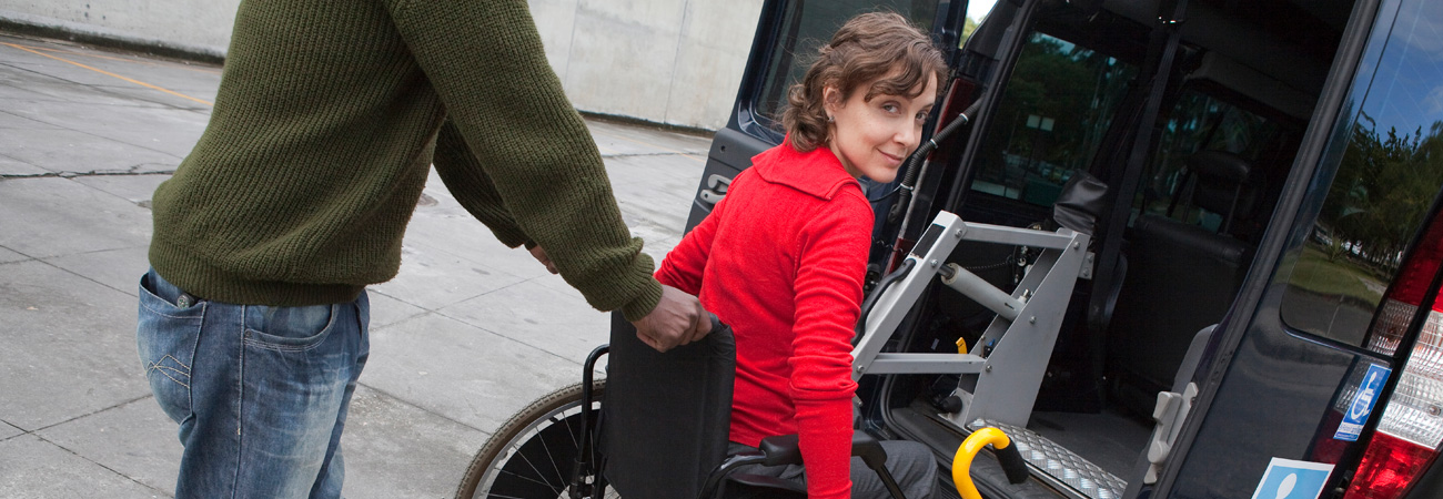 Young lady who uses an Aquila wheelchair cushion system.