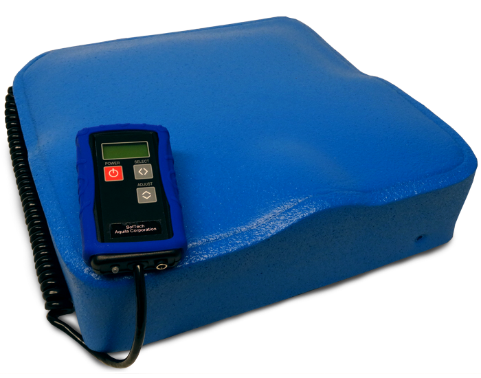The Aquila SofTech Cushion helps heal and prevent pressure injuries.