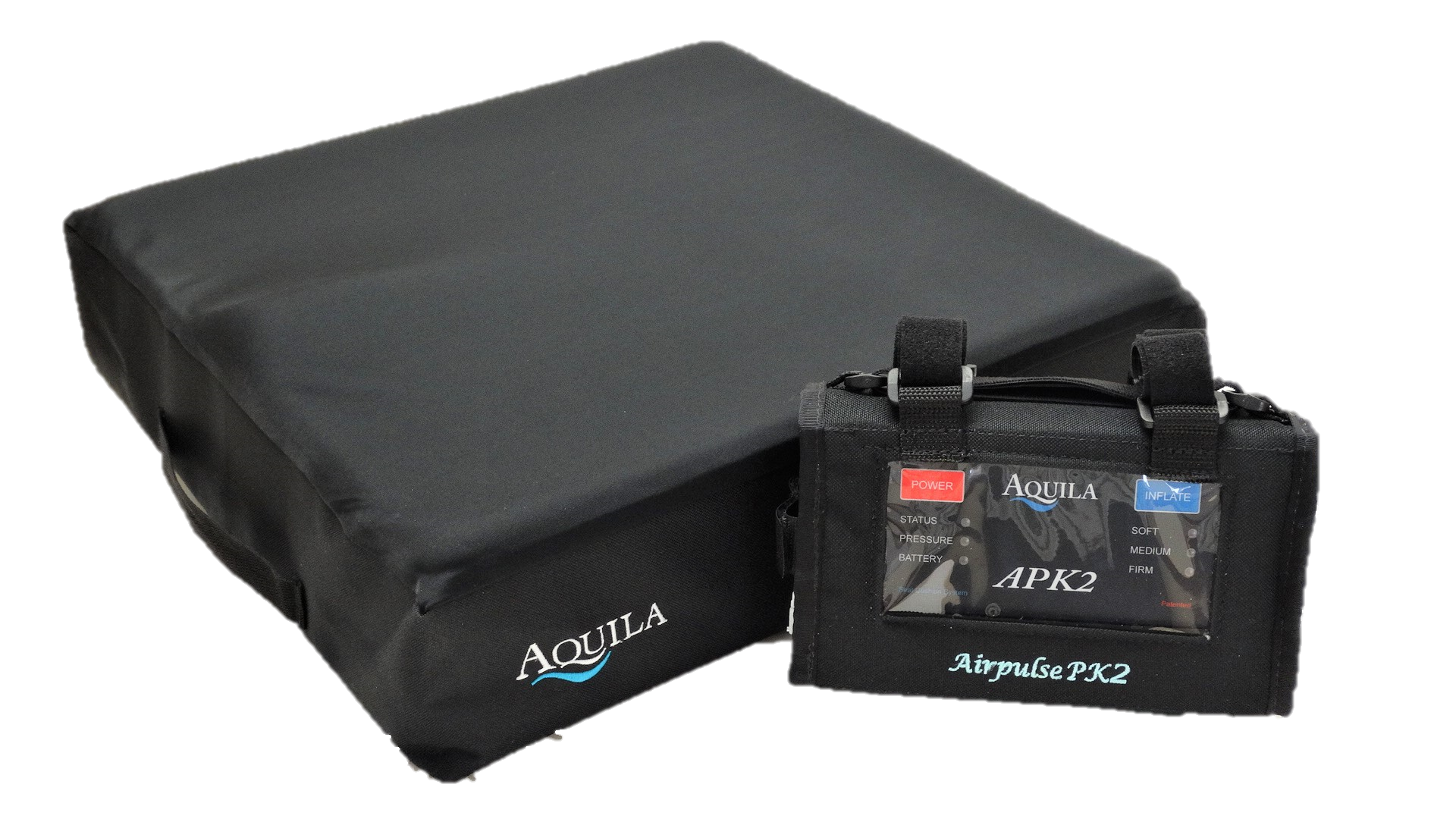 Heal and prevent pressure sores with the Aquila Airpulse PK2 wheelchair cushion.