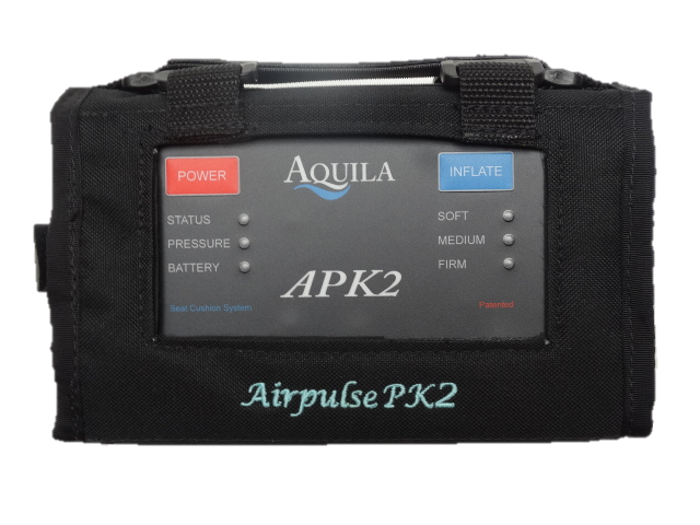 Close up of the Airpulse PK2 Contoller