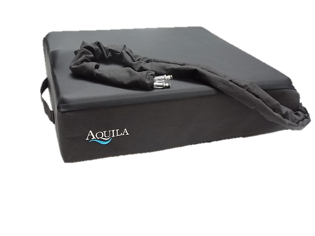The Aquila Airpulse PK2 wheelchair cushion is built with custom fabrication.